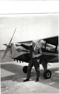 JAMES ASHWORTH WITH AUSTER AT BARTON