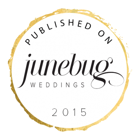 Published on Junebug Weddings Badges! | Junebug Weddings